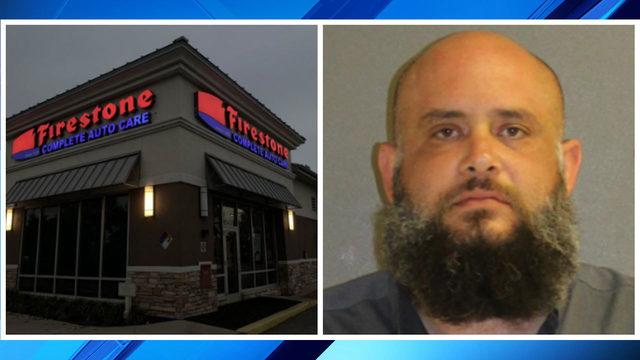 Firestone employee accused of secretly filming in women's restroom