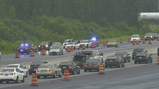 6 shots fired at van during rush hour on Florida Turnpike