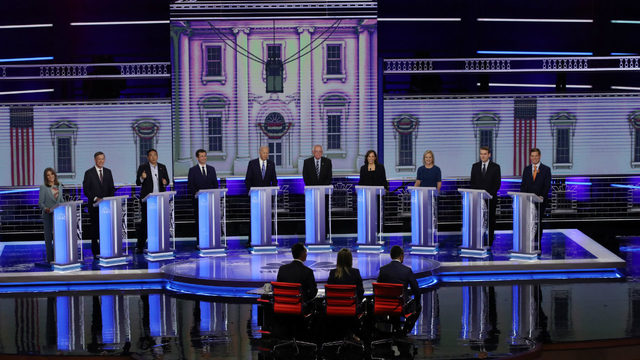Who will moderate, what will format be for 2nd Democratic presidential debate?