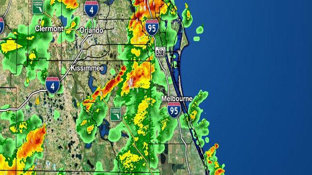 LIVE RADAR: Storms moving through parts of Central Florida