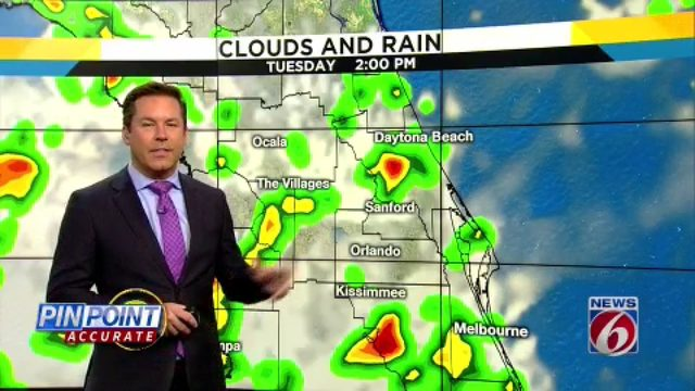 Rain chances remain high in Central Florida