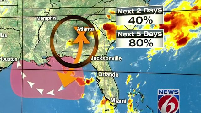 Tropical depression or storm expected to form in Gulf