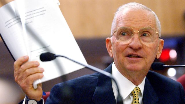 11 things that might surprise you about Ross Perot