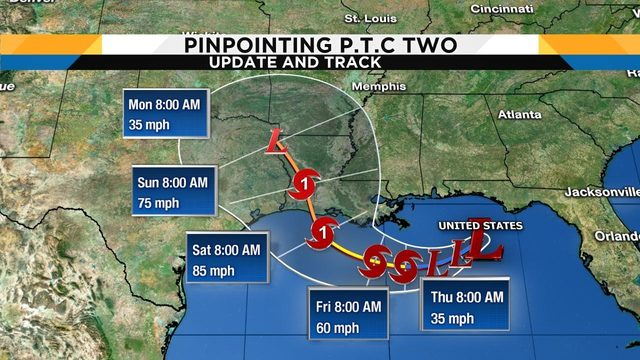 Potential tropical system in Gulf expected to become Hurricane Barry