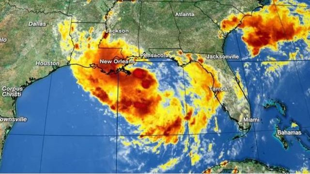 Tropical system expected to become Hurricane Barry