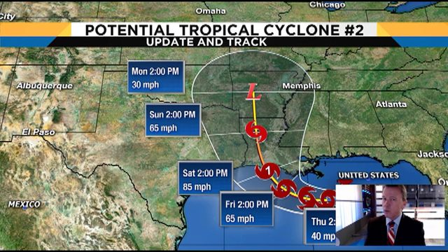 Tracking the Tropics: Potential tropical system in Gulf expected to…