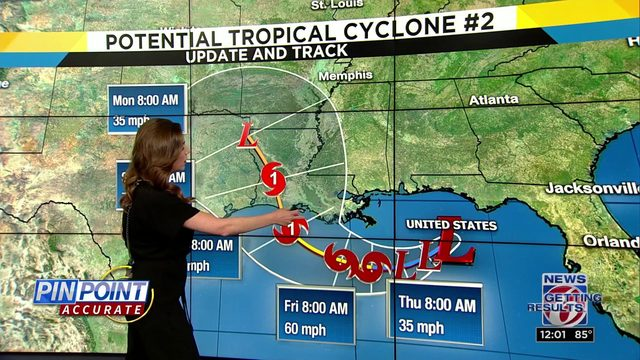 WEATHER UPDATES: Evacuations ordered ahead of system in Gulf