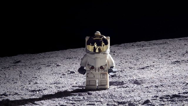 Out of this world: Orlando man recreates moon landing with Legos
