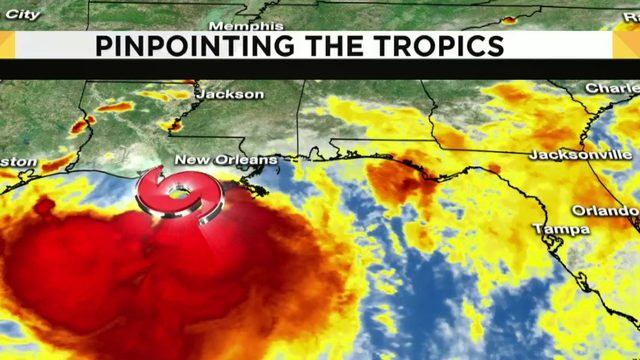 Tropical Storm Barry expected to make landfall early Saturday morning