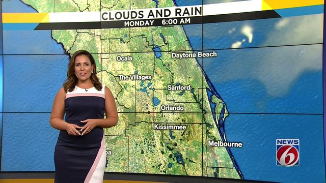 Dry, humid weather on tap for Monday