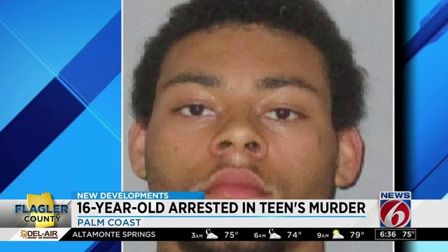 16-year-old arrested in teen's murder