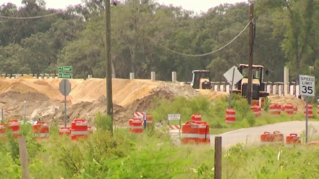Contruction resumes along section of the Wekiva Parkway project