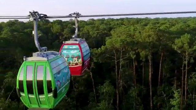 Disney Skyliner takes flight