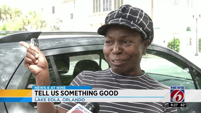 Lake Eola viewers share good news with News 6