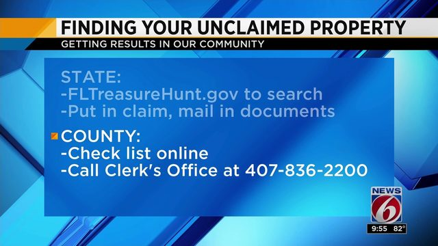 Orange County officials post list of unclaimed checks