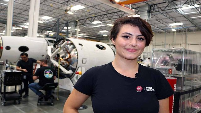 Virgin Orbit engineer spreads passion for rocketry, STEM in English, Arabic