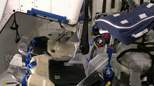 Inside Boeing's astronaut capsule Starliner