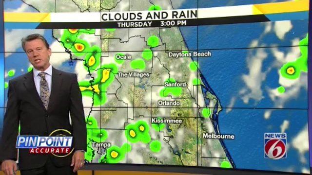 News 6 evening video forecast -- 7/16/19