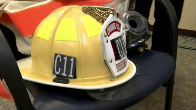 Female Orange County firefighters participate in study for new gear