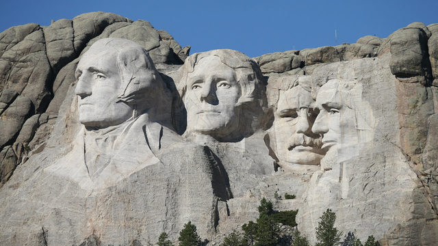 Woman arrested, fined $1K for climbing Mount Rushmore