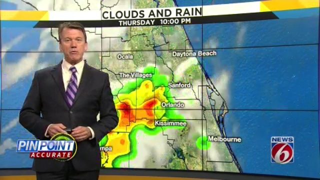 News 6 evening video forecast -- 7/17/19