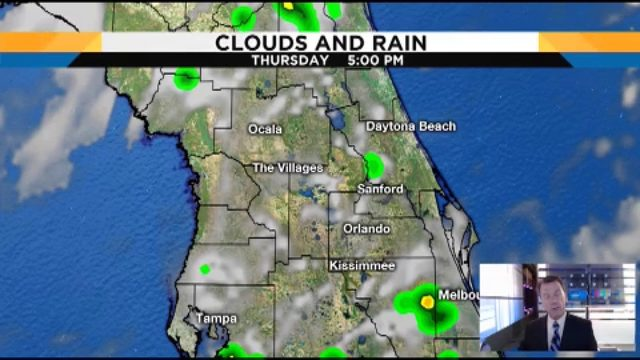 Temps could hit 94 in Central Florida on Thursday