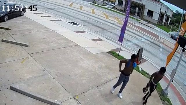 Video: Persons of Interest in carjacking near Orlando soccer stadium