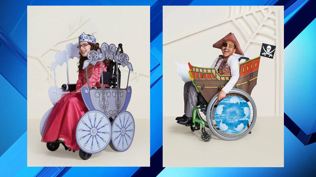 Target launches wheelchair adaptive Halloween costumes