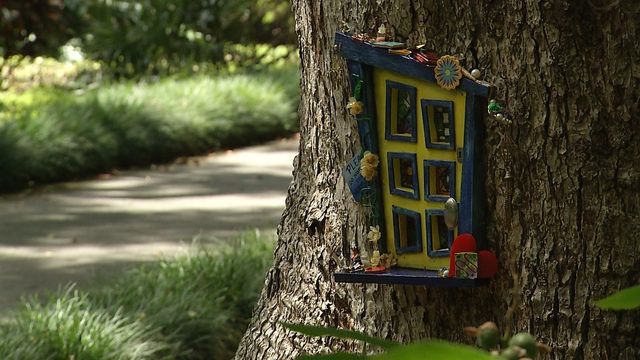 Fairy door exhibit inspires childhood imagination at Leu Gardens