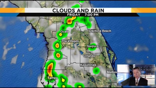 Heat is on, storms are around in Central Florida