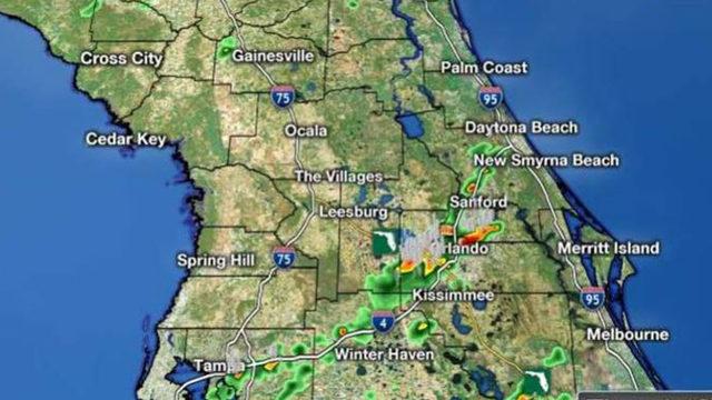 LIVE RADAR: Storms move through Central Florida