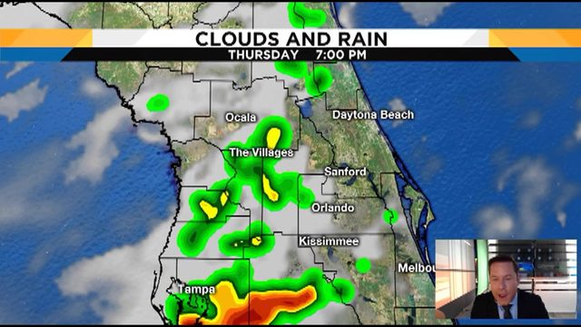 Troy Bridges pinpoints heat and afternoon storms