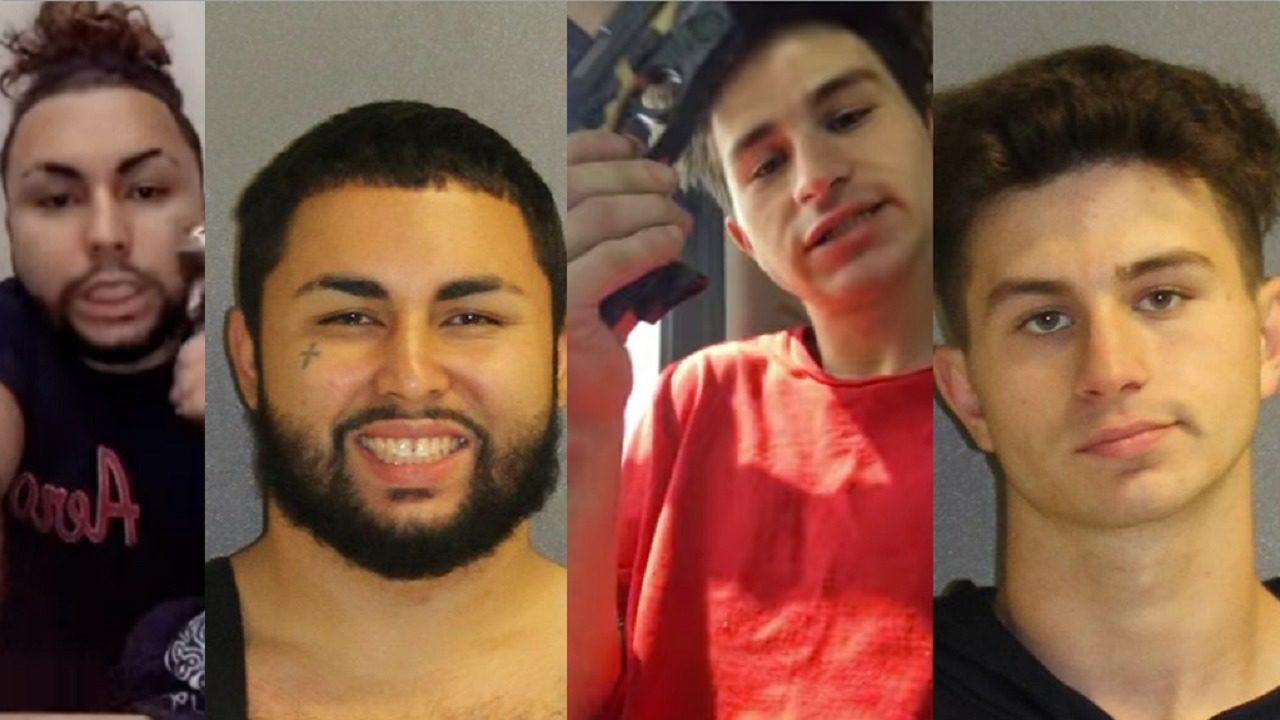 Instagram Videos Land Gun-Toting Teens Behind Bars, Deputies Say-4921