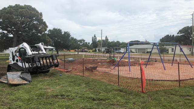 Arson suspected in fire that destroyed Palm Bay playground
