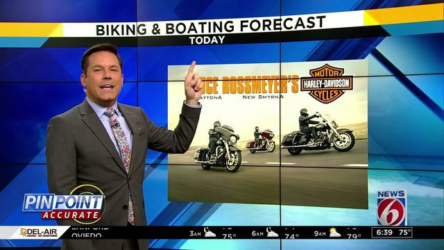 Biking & Boating: Better bike weather along the coast than inland