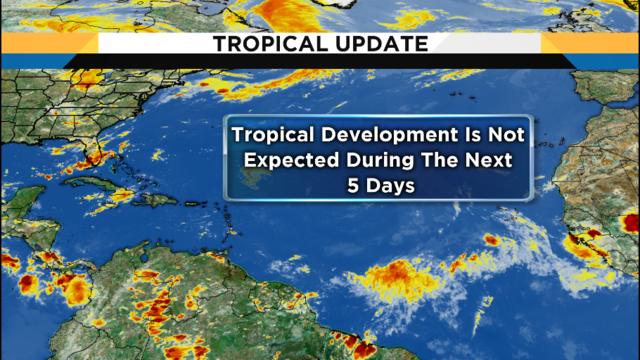 Tropical Update: Atlantic basin remains quiet