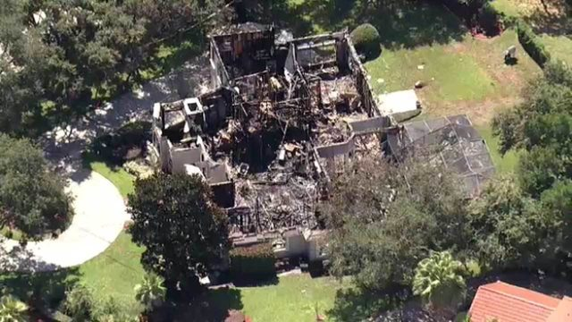 Family recovers priceless mementos after fire destroys home near Windermere