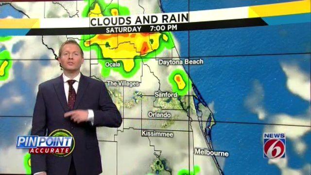 News 6 video forecast -- 7/20/19