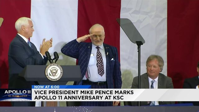 Vice President Mike Pence Marks Apollo 11 Anniversary