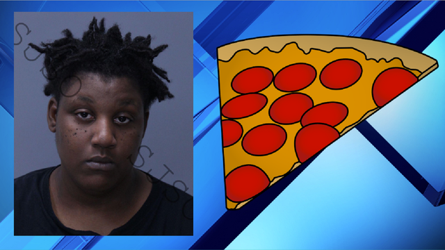 Florida woman accused of attempted knife attack over pizza slice