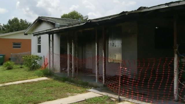 Fire-damaged home listed for sale without homeowner's consent