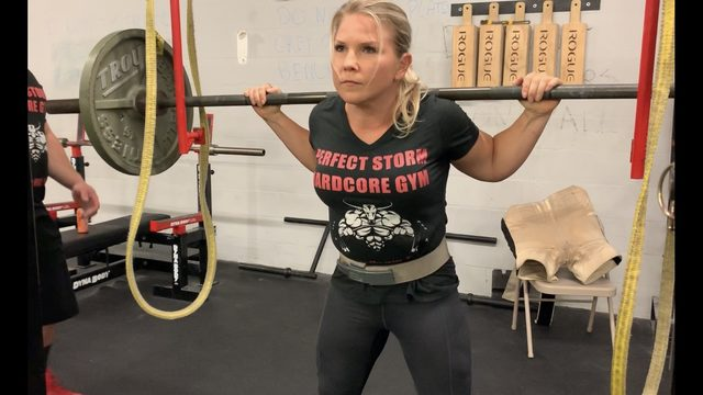 Powerlifter survives breast cancer, fights to get back to the top