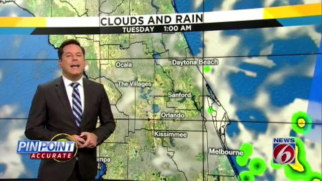 Rain chances ramping up in Central Florida