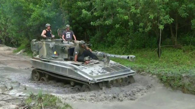 You can drive a tank at this Central Florida attraction