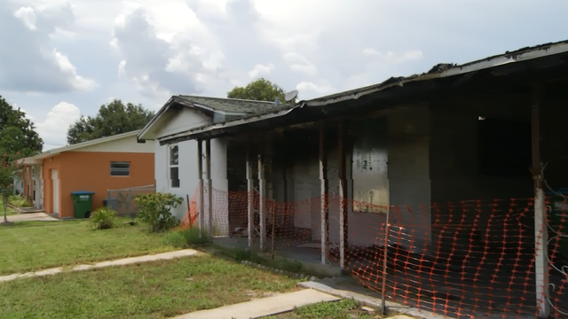 Fire-damaged home listed for sale online without homeowner's consent