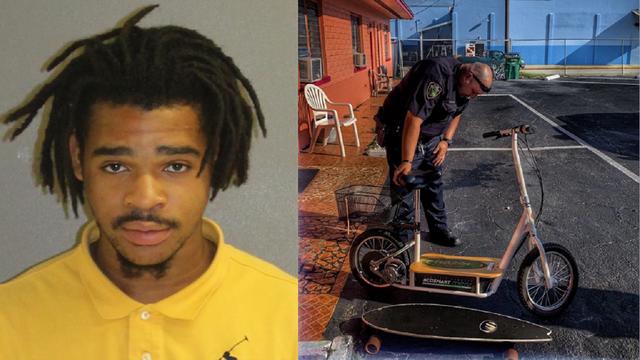 Motel key left at crime scene leads to burglary suspect's arrest