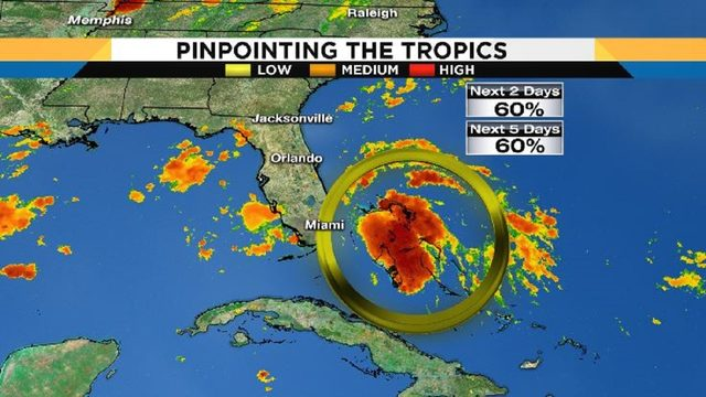 5 things you need to know about tropical disturbance off Florida