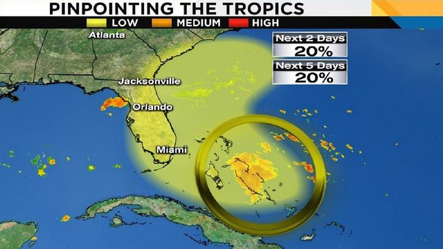 System in tropics to bring more rain to Central Florida