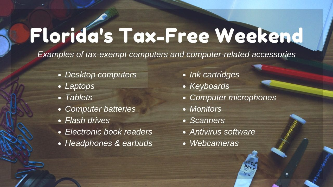 Everything you need to know about Florida's tax-free weekend