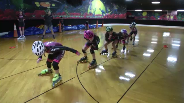 Orlando speed skating team races toward gold